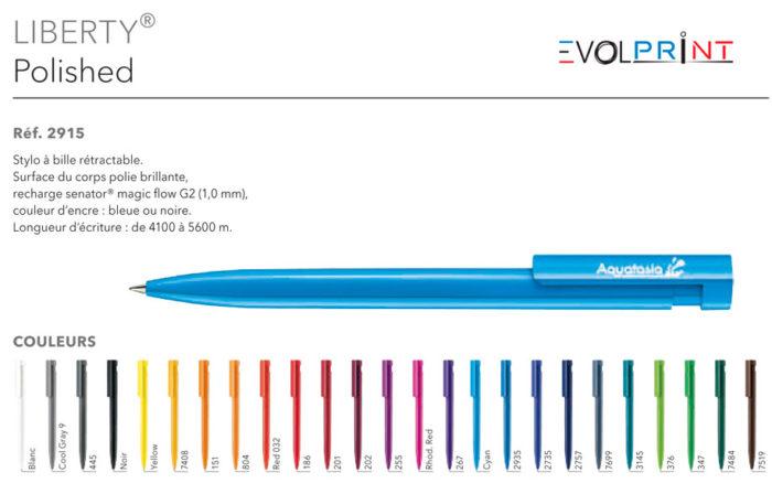 stylos publicitaires impression france
