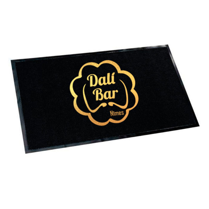 tapis de sol logo personnalisé imprimé
